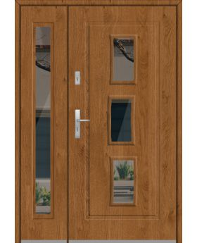 Fargo 16DB - stainless steel front door  with side panels