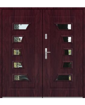 Fargo 18 double - double front entry door