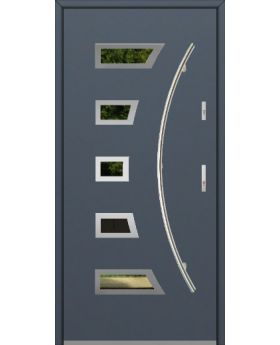Fargo 23A - stainless steel front door