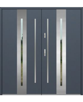 Fargo 26A double - double front doors / french doors