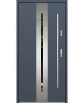 Fargo 26A - stainless steel front door
