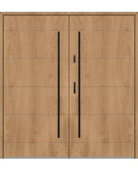 Fargo 26 C double - double front doors / french doors
