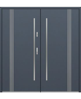 Fargo 32 B double - double front doors / french doors