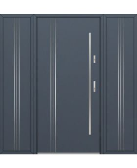 Fargo 32B T - entrance door with two side panels