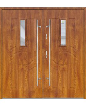 Fargo 33 double - double front doors / french doors