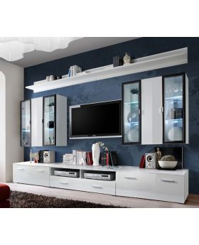 Malmo 1 - High gloss entertainment center