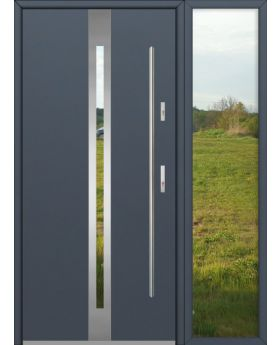 custom configuration - Fargo door with right sidelight (view from the outside)