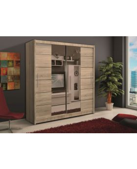 Soho II - oak sonoma wardrobe furniture