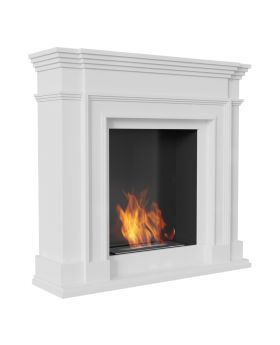 Louisiana - indoor fireplace
