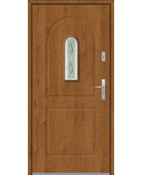 Fargo 3 - external front door with window