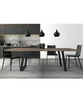 ZAFF 04 - wood dining room table