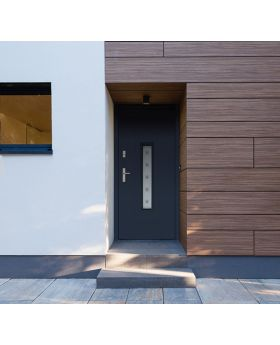 Color: smooth anthracite; Glass type:  sand
