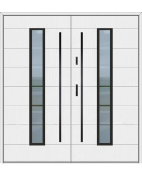 Fargo 12C double - double front entry door