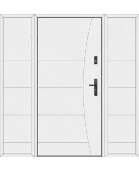 Fargo 26F T - front door with two side panels