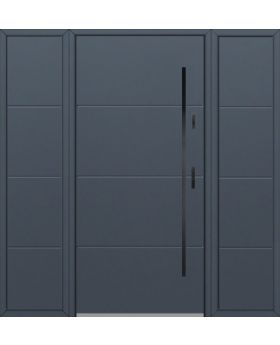 Fargo 26I T - front door with two side panels