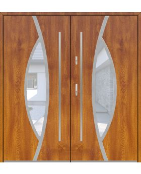 Fargo 31 double - double front doors / french doors