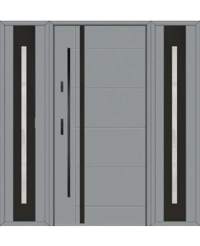 Fargo 41AT - front door with two side panels