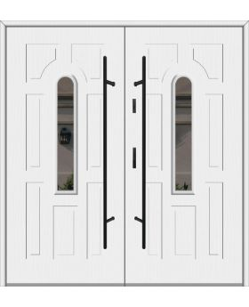 Fargo 5 double - solid steel double exterior door / french door