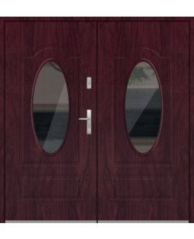 Fargo 8 double - double glazed entrance door