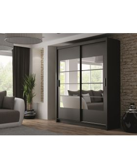 Thurso - sliding wardrobe doors with mirror