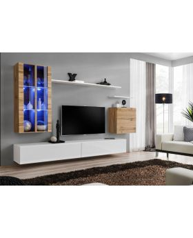 Shift 12 - black entertainment center