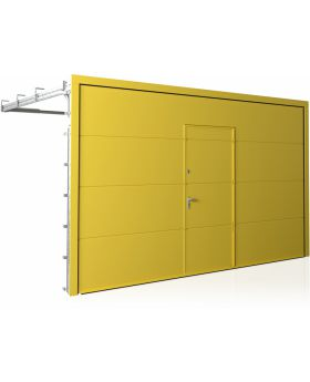 WIS 17 -  Garage door with wicket door