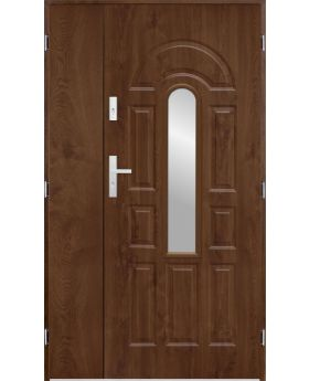 Sta Virgo Uno - Golden Oak or Walnut double front door.