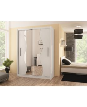 Telford V 203 - sliding wardrobe with mirror