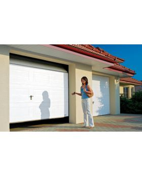 WIS 4 -  Garage door made of caisson panels
