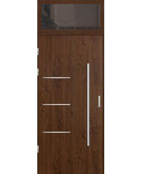 custom configuration - STA door with top sidelight (view from the outside)