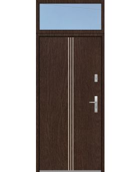 custom configuration - Fargo door with top sidelight
